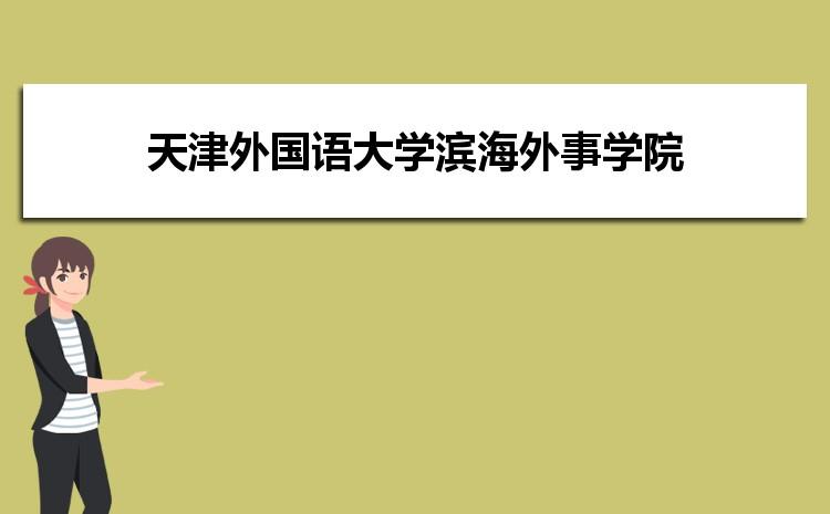 天津外国语大学滨海外事学院在河北的历年录取分数线及招生计划人数