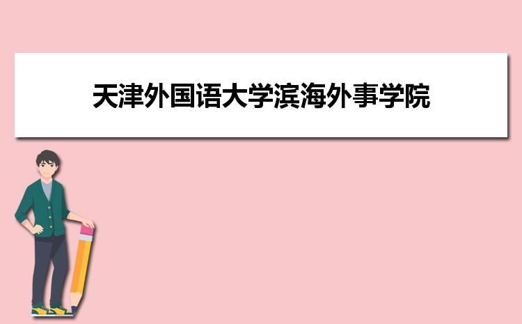 天津外国语大学滨海外事学院在云南的历年录取分数线及招生计划人数