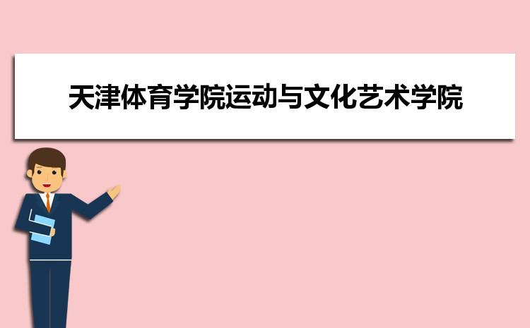 天津体育学院运动与文化艺术学院在四川的历年录取分数线及招生计划人数