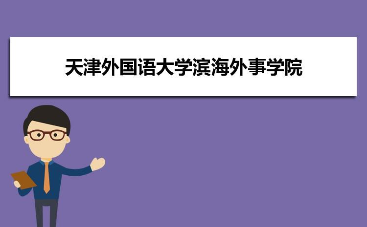 天津外国语大学滨海外事学院在福建的历年录取分数线及招生计划人数