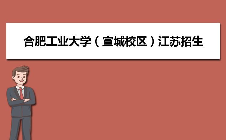 2021年合肥工业大学(宣城校区)在江苏招生专业及选科要求对照